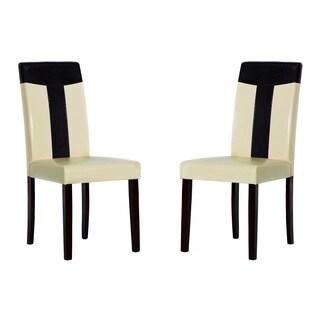 Tiffany Bi-cast Leather Chairs (Set of 4)