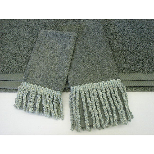Sherry Kline Curly Bullion Decorative 3-piece Towel Set
