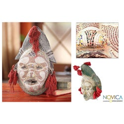 Wood 'River Goddess' Mask (Ghana)