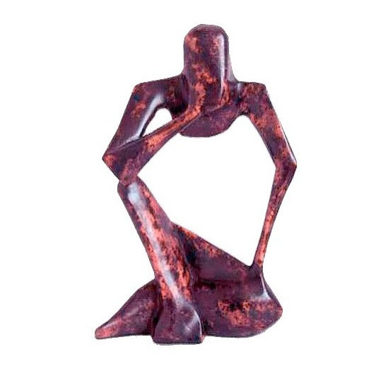 Wood 'Power of the Mind' Statuette (Ghana)