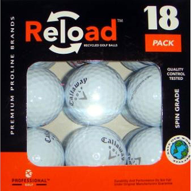 Callaway Warbird Recycled Golf Balls (Case of 54)