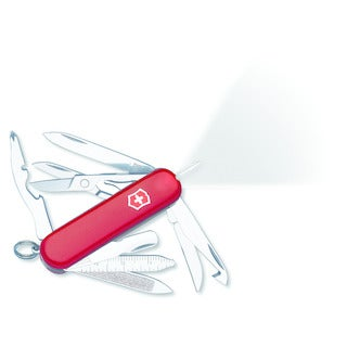 Victorinox Swiss Army Red Midnight Minichamp Knife