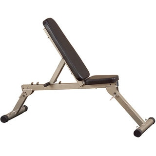 Best Fitness Flat/ Incline/ Decline Folding Bench
