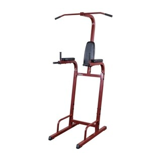 Best Fitness BFVK10 Vertical Knee Raise/ Chin Dip Station - Black/Red
