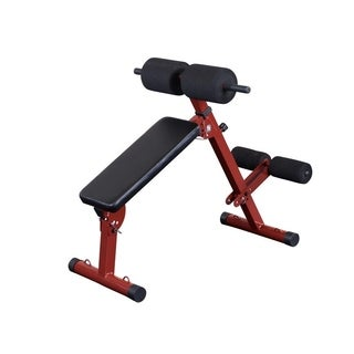 Best Fitness BFHYP10 Ab Board Hyperextension - Black/Red