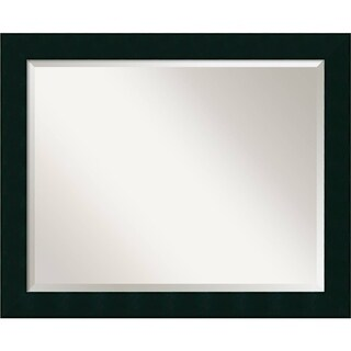 Wall Mirror Large, Tribeca Black 32 x 26-inch