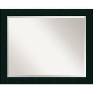 Wall Mirror Large, Tribeca Black 32 x 26-inch - large - 32 x 26-inch