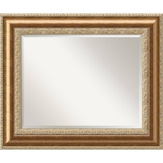 Wall Mirror Large, Vienna Bronze 37 x 31-inch