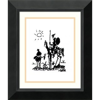 Pablo Picasso 'Don Quixote' Framed Art Print