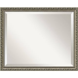 Wall Mirror Medium, Parisian Silver 19 x 23-inch