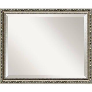 Wall Mirror, Parisian Silver Wood