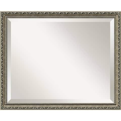 Wall Mirror, Parisian Silver Wood