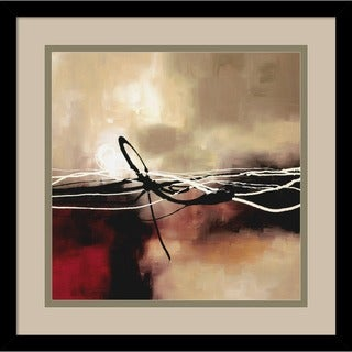Laurie Maitland 'Symphony in Red and Khaki II' Framed Art Print