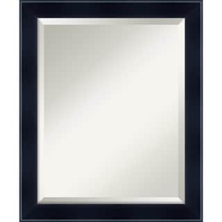Wall Mirror Medium, Madison Black 19 x 23-inch