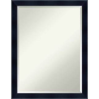 Wall Mirror, Madison Black Wood