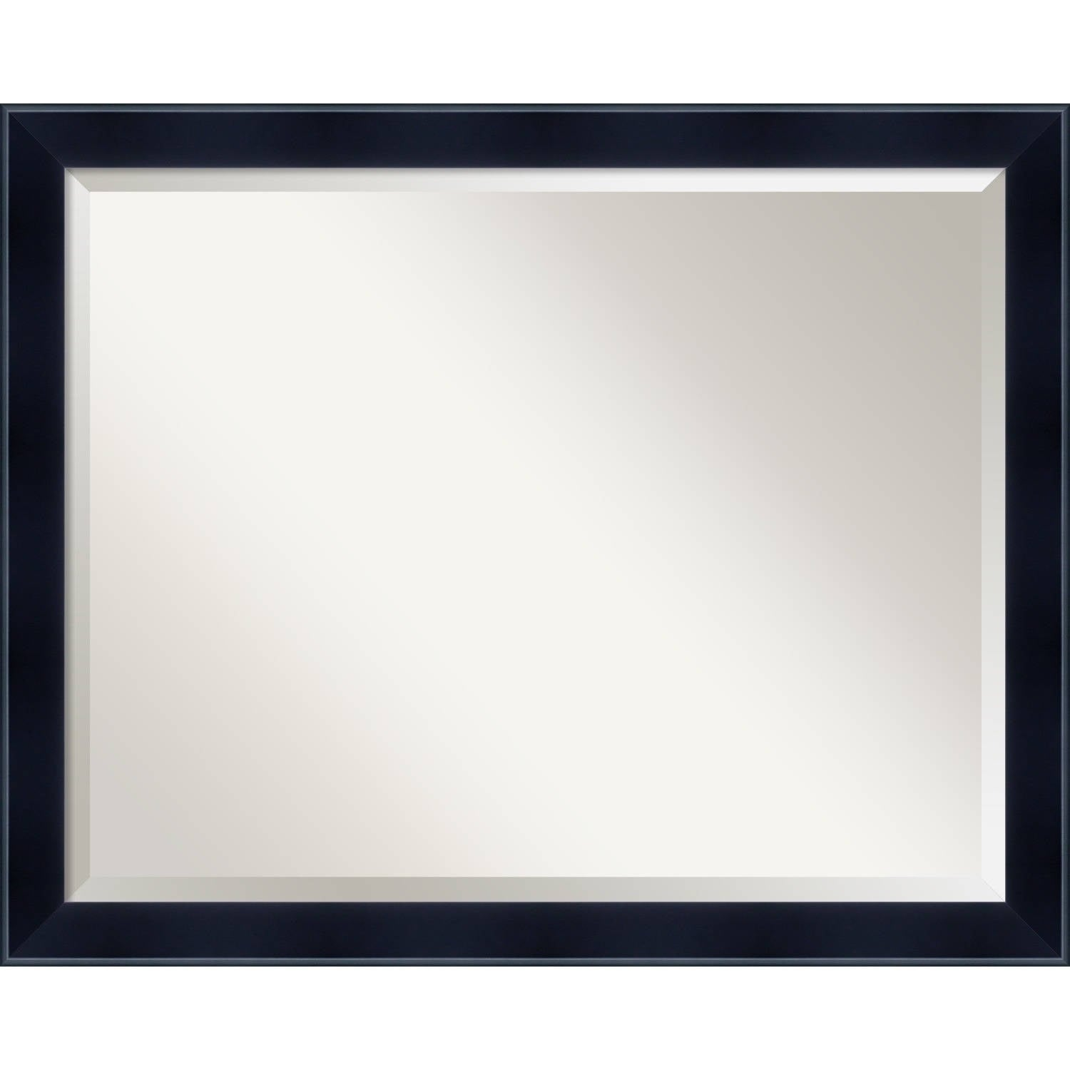 Wall Mirror Large, Madison Black 31 x 25-inch - large - 31 x 25-inch