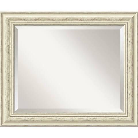 The Gray Barn Wilset Country Whitewash Mirror