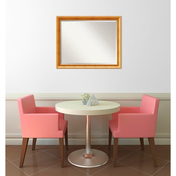 32 X 48 Mirror Part - 48: Wall Mirror Large, Townhouse Gold 32 X 26-inch - Free Shipping Today -  Overstock.com - 11978212