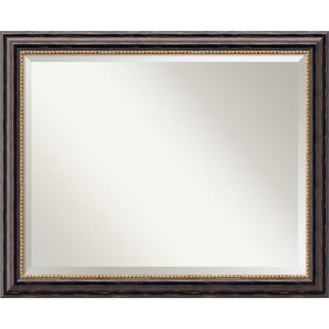 Wall Mirror Large, Tuscan Rustic 32 x 26-inch - large - 32 x 26-inch