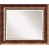 Wall Mirror, Manhattan Bronze Wood