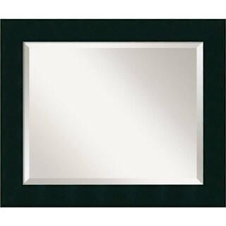 Wall Mirror, Tribeca Black Wood