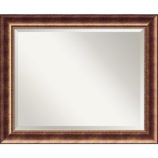 Wall Mirror Large, Manhattan Bronze 34 x 28-inch