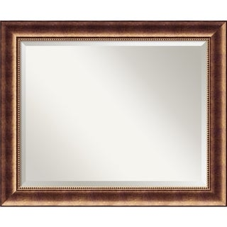 Wall Mirror Large, Manhattan Bronze 34 x 28-inch - large - 34 x 28-inch