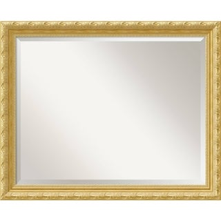 Wall Mirror Large, Versailles Gold 32 x 26-inch