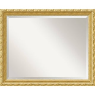 Wall Mirror Large, Versailles Gold 32 x 26-inch - Antique Gold - large - 32 x 26-inch