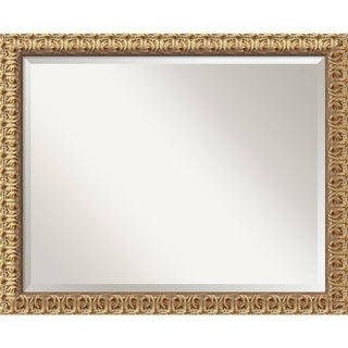 Florentine Gold 32 x 26 Large Wall Mirror