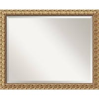 Wall Mirror Large, Florentine Gold 32 x 26-inch