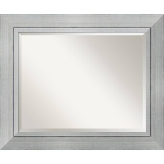 Wall Mirror Large, Romano Silver 36 x 30-inch - large - 36 x 30-inch