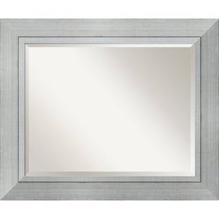 Wall Mirror Large, Romano Silver 36 x 30-inch - Silver/Black - large - 36 x 30-inch