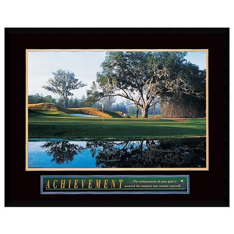 Framed Art Print 'Achievement: Golf' 29 x 23-inch