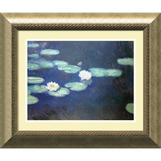 Claude Monet 'Nympheas, 1897' Framed Art Print