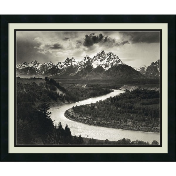 Shop Framed Art Print The Tetons And The Snake River