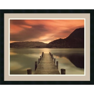 Framed Art Print 'Ullswater, Glenridding, Cumbria' by Mel Allen 32 x 25-inch