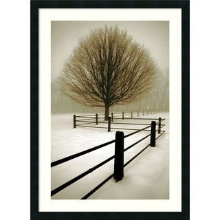 Framed Art Print 'Solitude' by David Lorenz Winston 24 x 33-inch