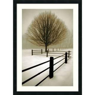 Framed Art Print 'Solitude' by David Lorenz Winston 24 x 33-inch