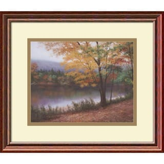 Diane Romanello 'Golden Autumn' Framed Art Print