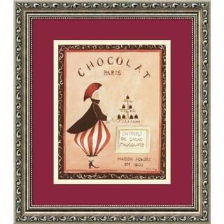 Katharine Gracey 'Chocolat, Paris' Framed Art Print