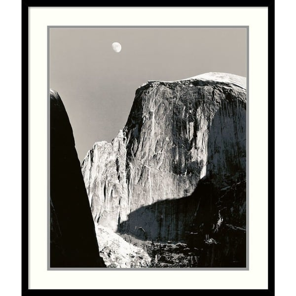 Shop Framed Art Print Half Dome Winter