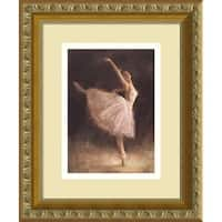Framed Art Print 'The Passion of Dance' by Richard Judson Zolan 10 x 12-inch