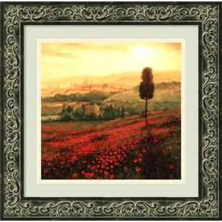 Shop Steve Thoms Shades Of Poppies Framed Art Print