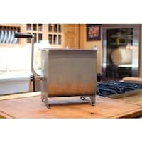 Weston 20-pound Stainless Steel Manual Meat Mixer