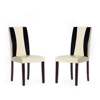 Savana Bi-cast Leather Chairs (Set of 8)