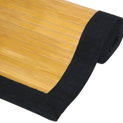 Handmade Rayon from Bamboo Rug - 5' x 8'