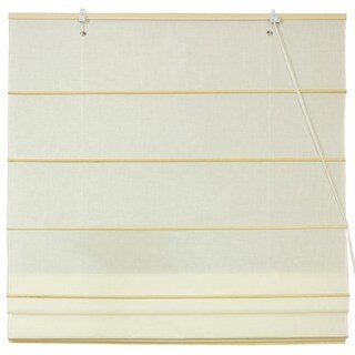 Handmade Cotton 48-inch-wide Roman Shades (China) - 48 x 72
