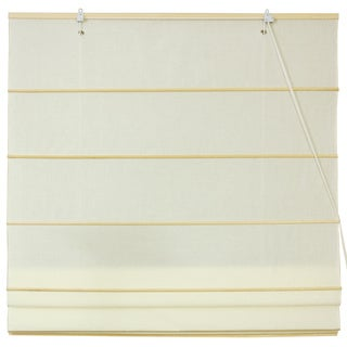Handmade Artisanal Cotton 72-inch Handmade Roman Shades (China)