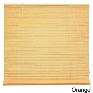 Handmade Shoji Paper 36-inch Roll-up Blinds (China) (Option: Orange)